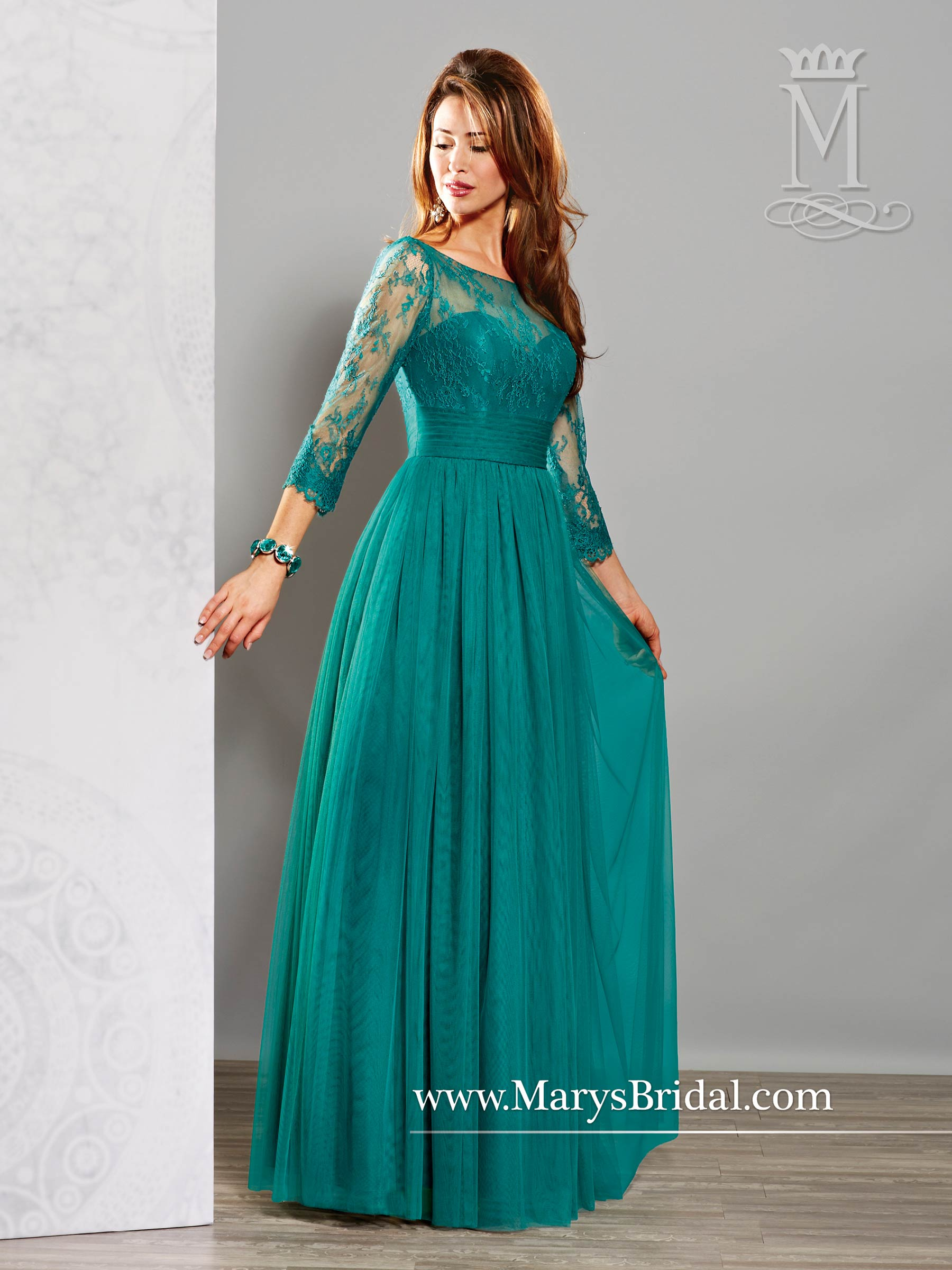 A-Line Mother of the Bride Gown M2706 - Genesis Bridal Boutique